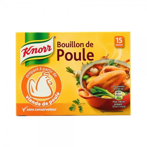 BOUILLON DE POULE