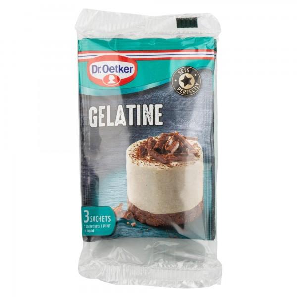Dr. Oetker Gelatine Sachets 3*12G