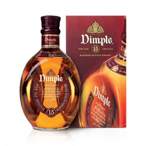 Blended Scotch Whisky Dimple Original 12 years 70 Cl