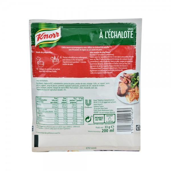 Knorr Sachet Sauce Echalote - 33G