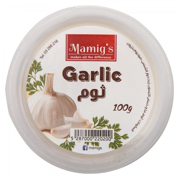 Mamig's Garlic Dip 100G