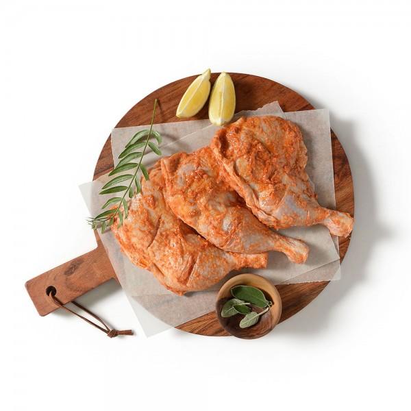 Chicken Legs marinated per Kg
