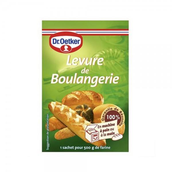 LEVURE DE BOULANGERIE LOT 3'S