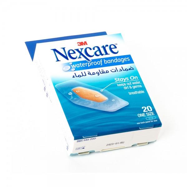 Nexcare Plasters 588 30D Waterproof - 30Pc