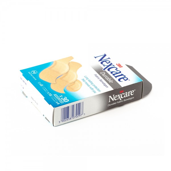 Nexcare Plasters Durable 665 30 Fabric - 30Pc