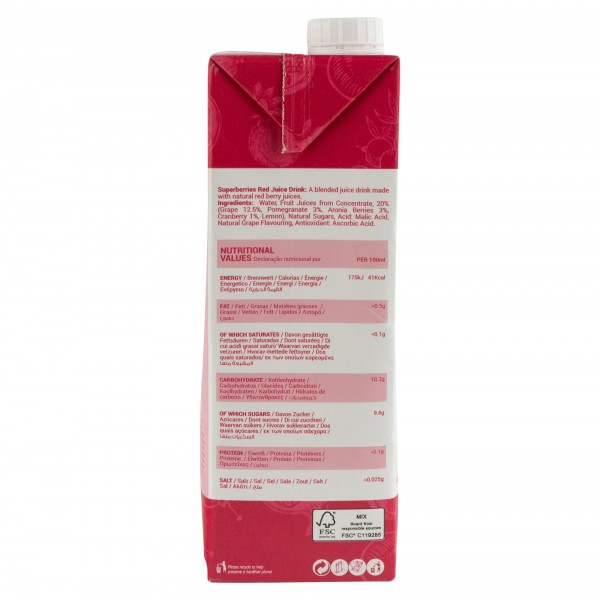 The Berry Co. Superberry Red 1L