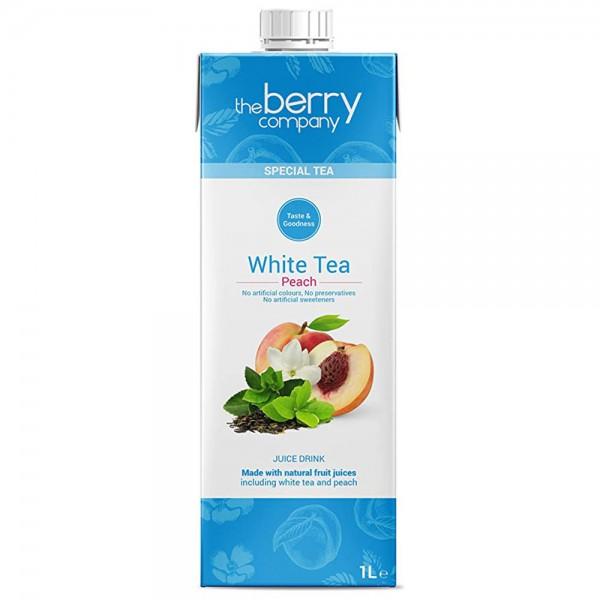 The Berry Co. White Tea & Peach Drink 1L