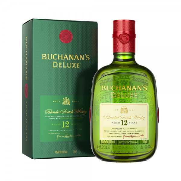 Blended Scotch Whisky Buchanan's Deluxe Aged 12 Years 75CL