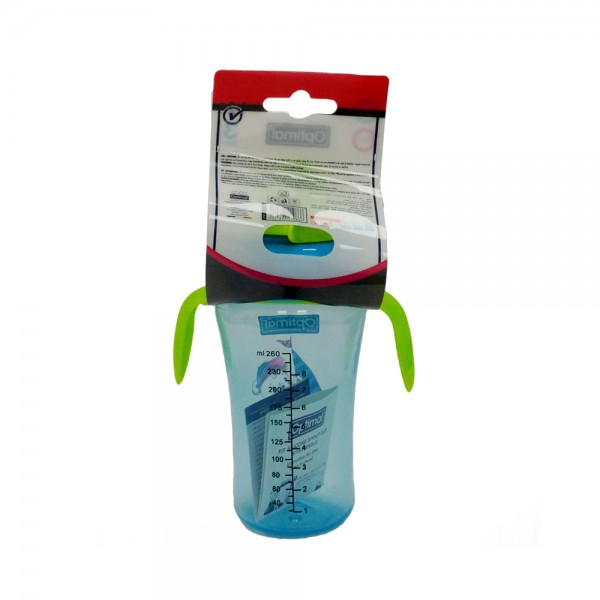 SILICONE SPOUT CUP WITH HANDLE