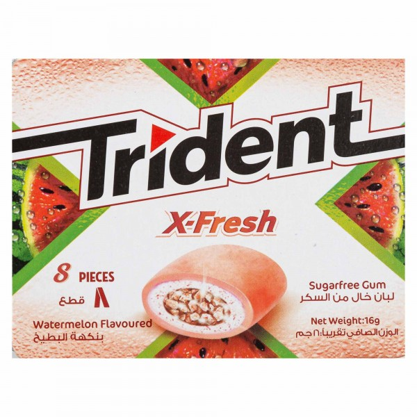 Trident Xfresh Watermelon Sf