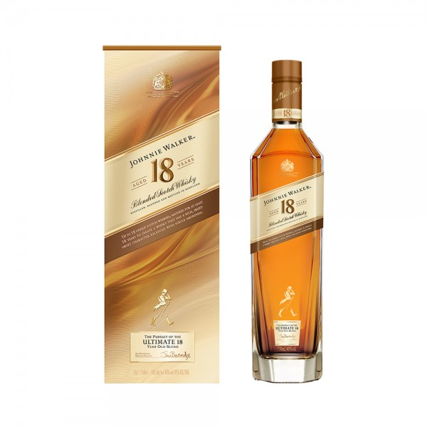 Blended Scotch Whisky Johnnie Walker Aged 18 Years 75CL