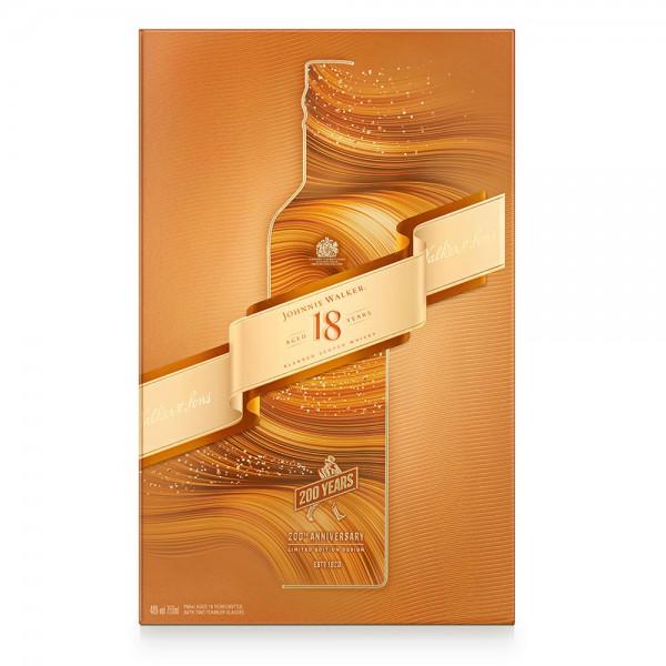 J.Walker Scotch Whisky 18Y+2Glasses - 750Ml