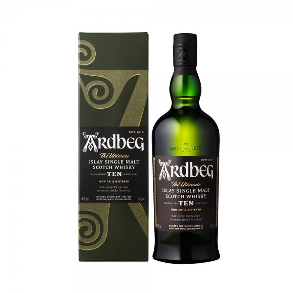 Whisky Ardbeg 10 Years 70cl