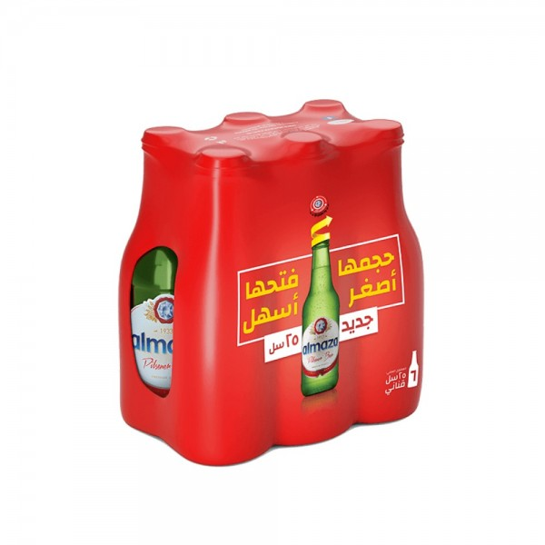 Almaza Beer 5+1 Free - 6x250ml