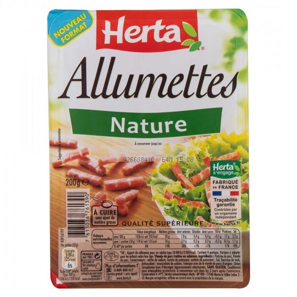 Herta Allumettes Nature 2*100G