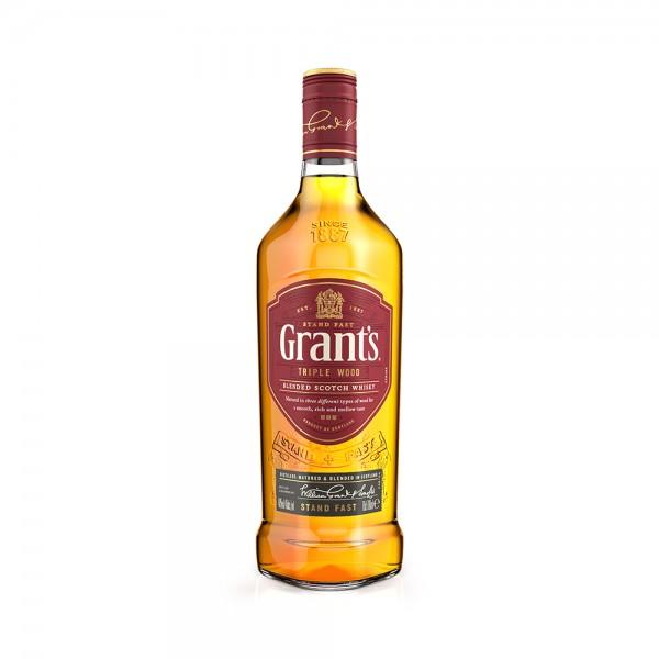 Grants Whisky Triplewood - 750Ml