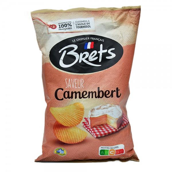 Brets Chips Saveur Camembert - 125G