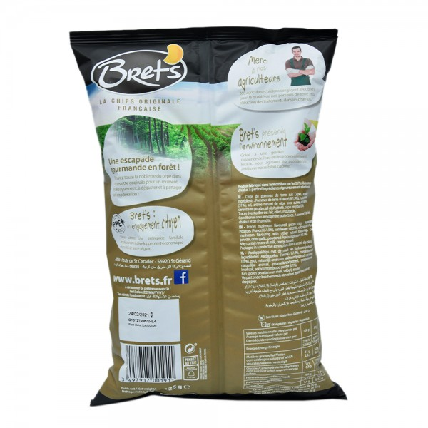Brets Chips Saveur Cepes - 125G