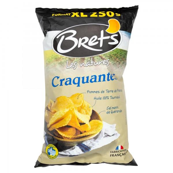 Brets A L'Ancienne Sel De Guernade Chips 250G