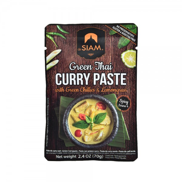 DeSiam Green Curry Paste