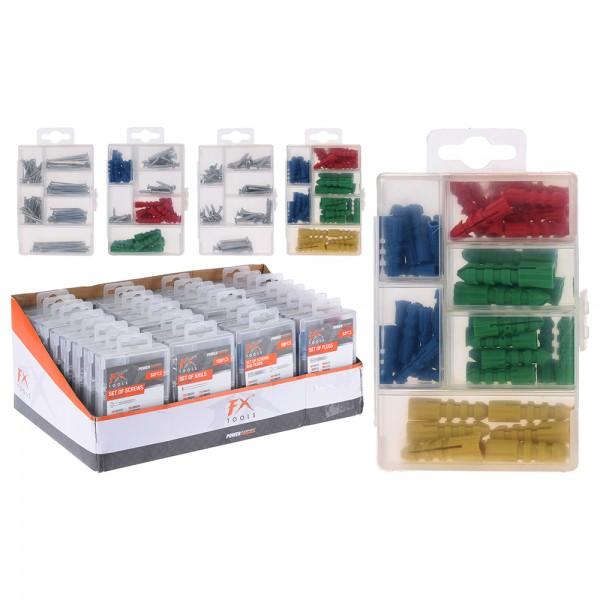 Fx Tools Screw Plug Nail Assorted - Set