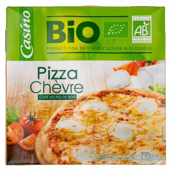 Casino Bio Pizza Chevre 360G