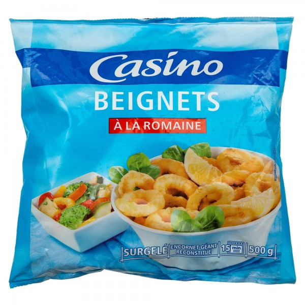 Casino Beignets A La Romaine Frozen 500G