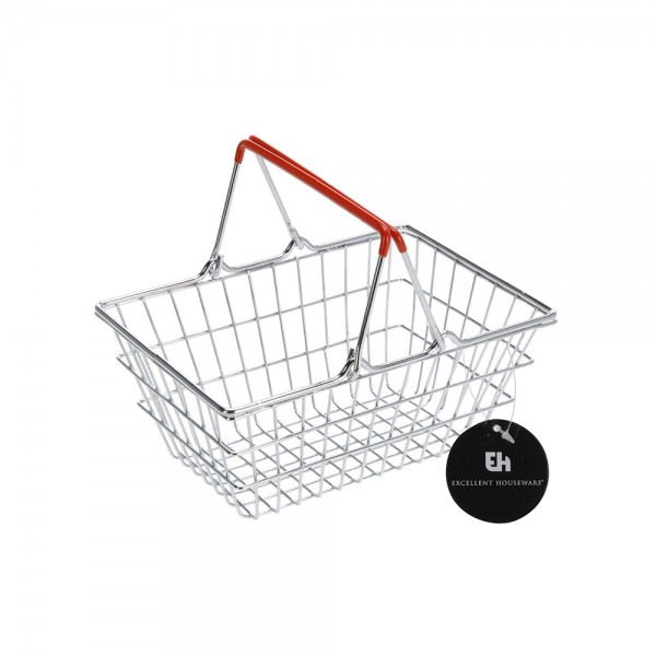 BASKET GHROME WITH COLORED HANDLE