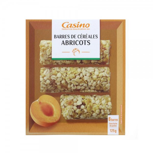 6 BARRES CEREALE ABRICOT