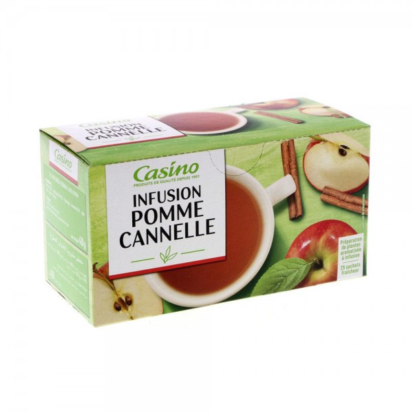 INFUSION POMME CANNELLE 25S