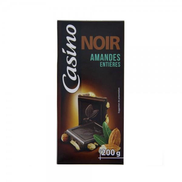 CHOCO NOIR AMANDES