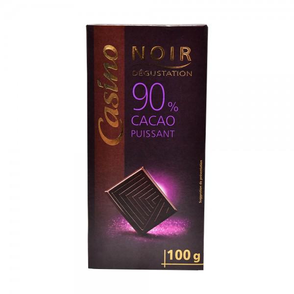 CHOC NOIR DEGSTATION 90PCENT CACAO