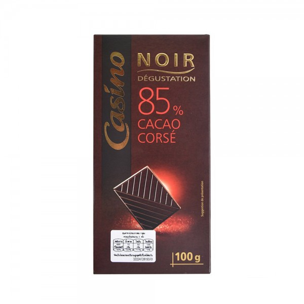 CHOCO NOIR DEGUSTATION 85PCENT