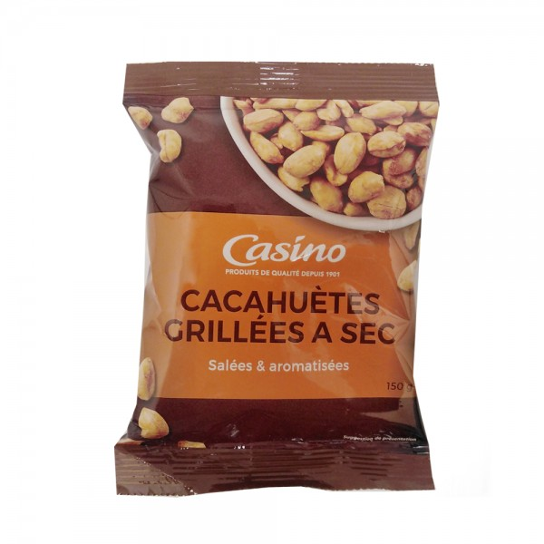 CACAHUETES GRILLEES A SEC