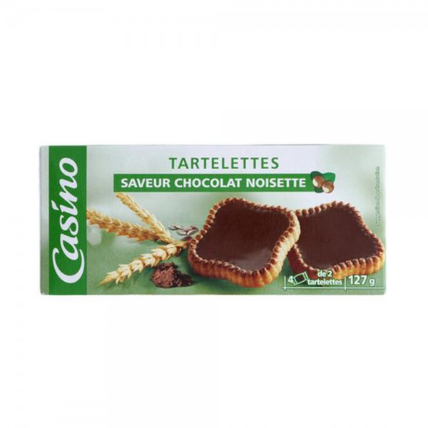 TARTELETTE CHOCO NOISETTE
