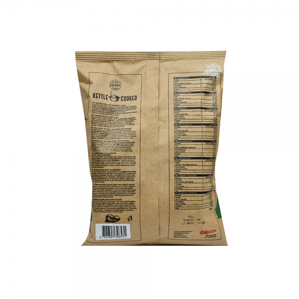 Crispy Wanted Kettle Cook Chip Sourcrm+Onion 200G