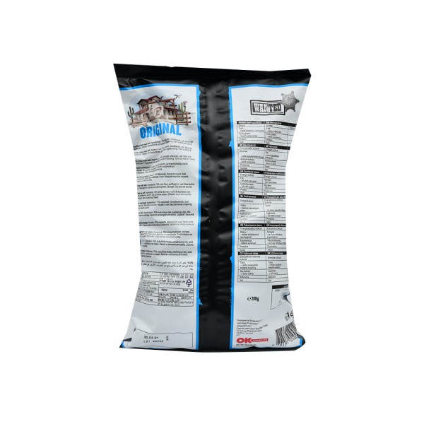 Wanted Tortilla Chips With Salt 200G