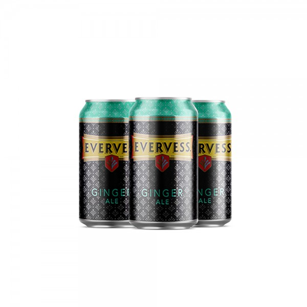 Evervess Ginger Ale Can - 330Ml