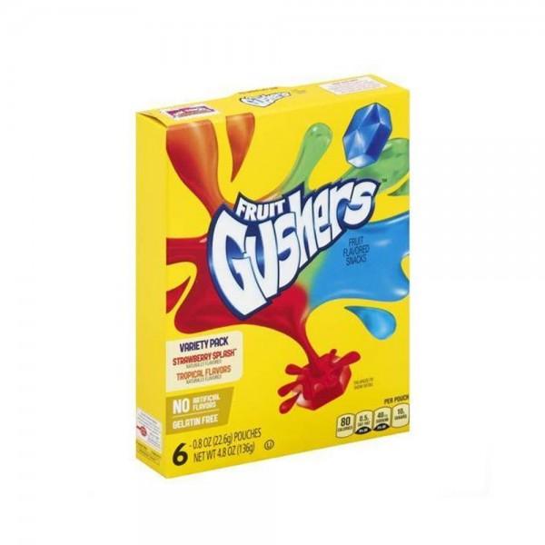 FRUIT GUSHERS STRWBRY+TROPICAL