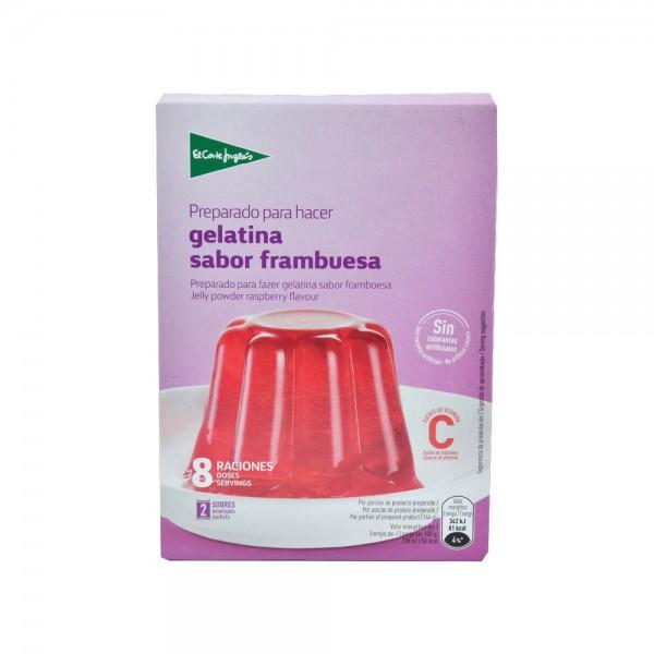 El Corte Inglés Raspberry Flavor Jelly Mix With Vitamin C 170G