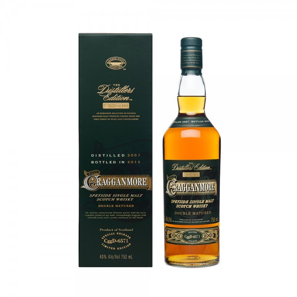 Single Malt Scotch Whisky Cragganmore Distiller's Edition 70CL