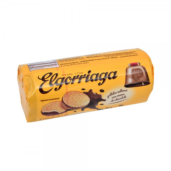 COCOA FLAVORED FILLED BISCUIT