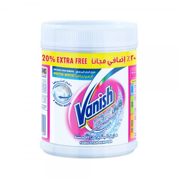 Vanish Stain Remover White -20Pcent - 500G