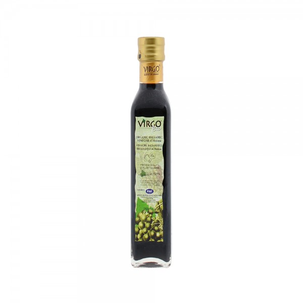 Virgo Certified Organic Premium Quality Balsamic Vinegar