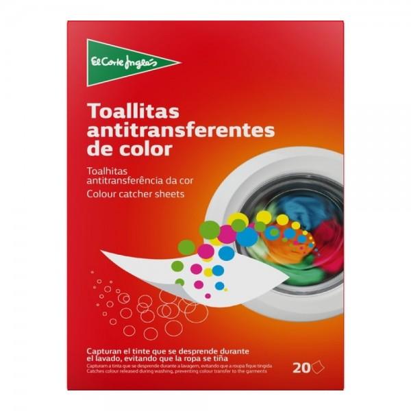 El Corte Color Run Protection Wipes Box 20pc