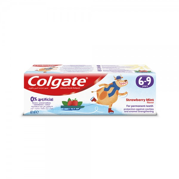 Colgate 0% Artificial 69 Years Kids Toothpaste 40ml