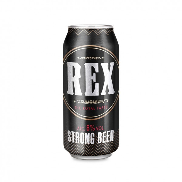 Rex Beer Can Strong 8P - 500Ml