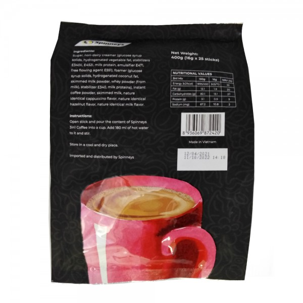 Spinneys Instant Coffee 3in1