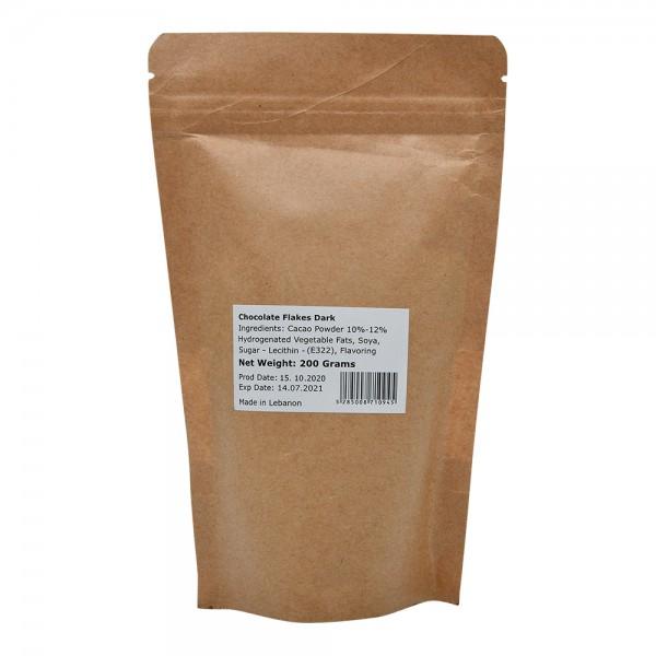 Chocoa Dark Chocolate Flakes 1X6