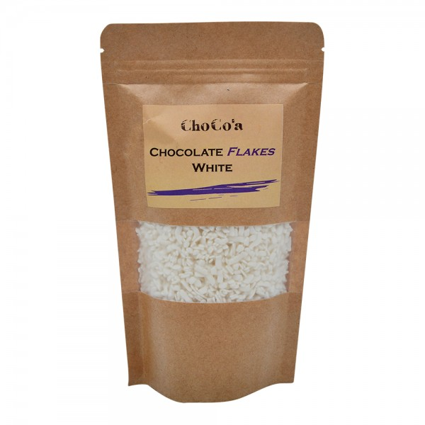 ChoCo'a Chocolate Flakes White 200G